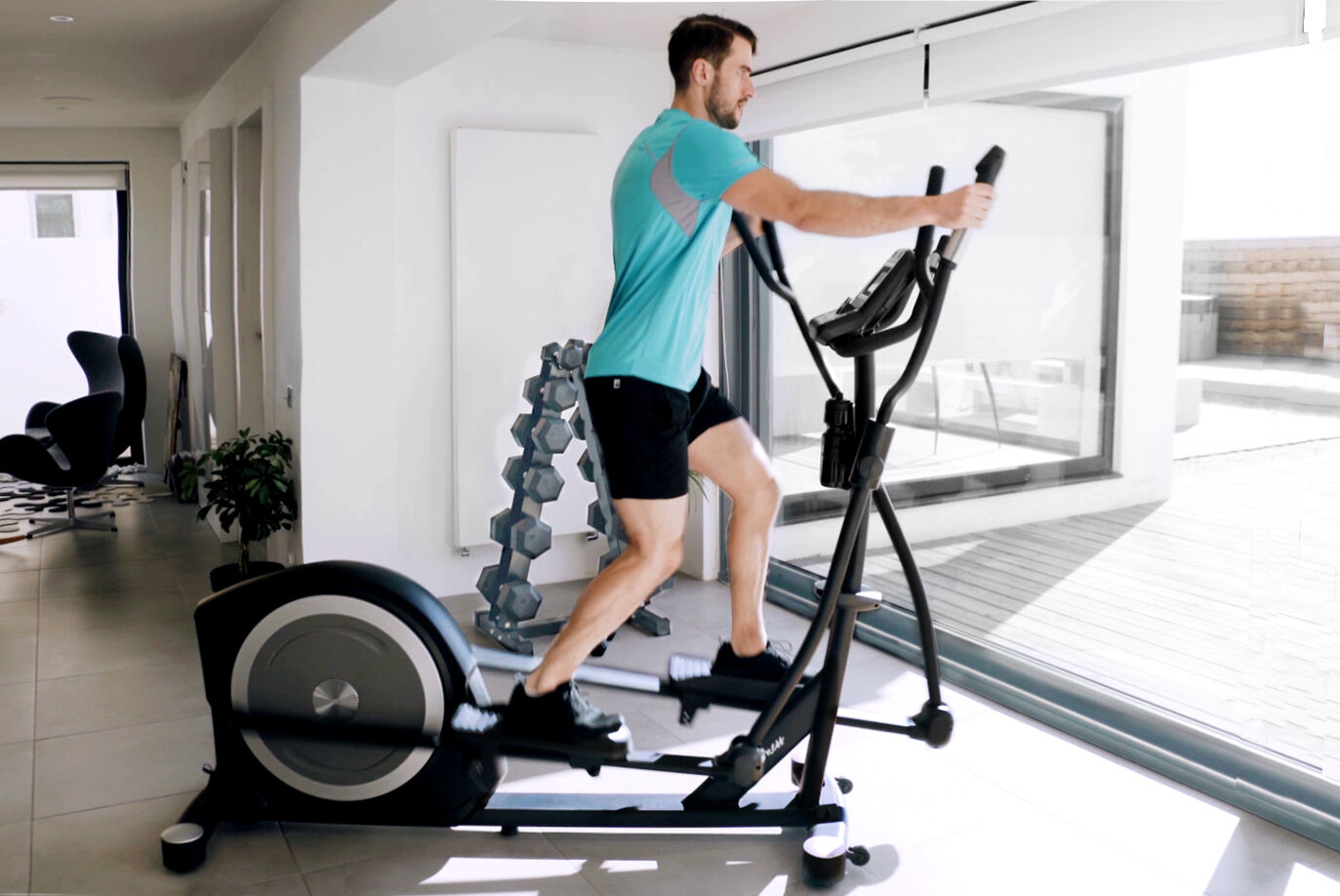 Gym Elliptical   Commercial Quality Grade and Features