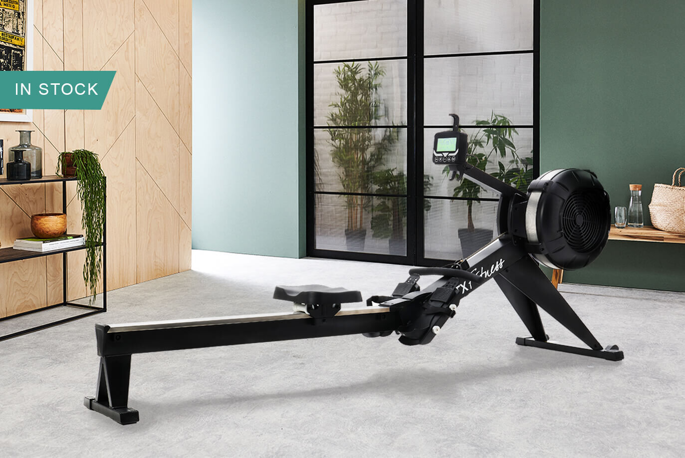 Indoor Rower from JTX Fitness - Ignite Air Rower