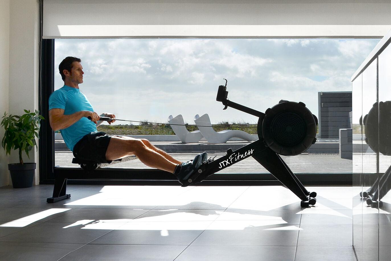 JTX Ignite Air Indoor Rower - 3 Year Warranty