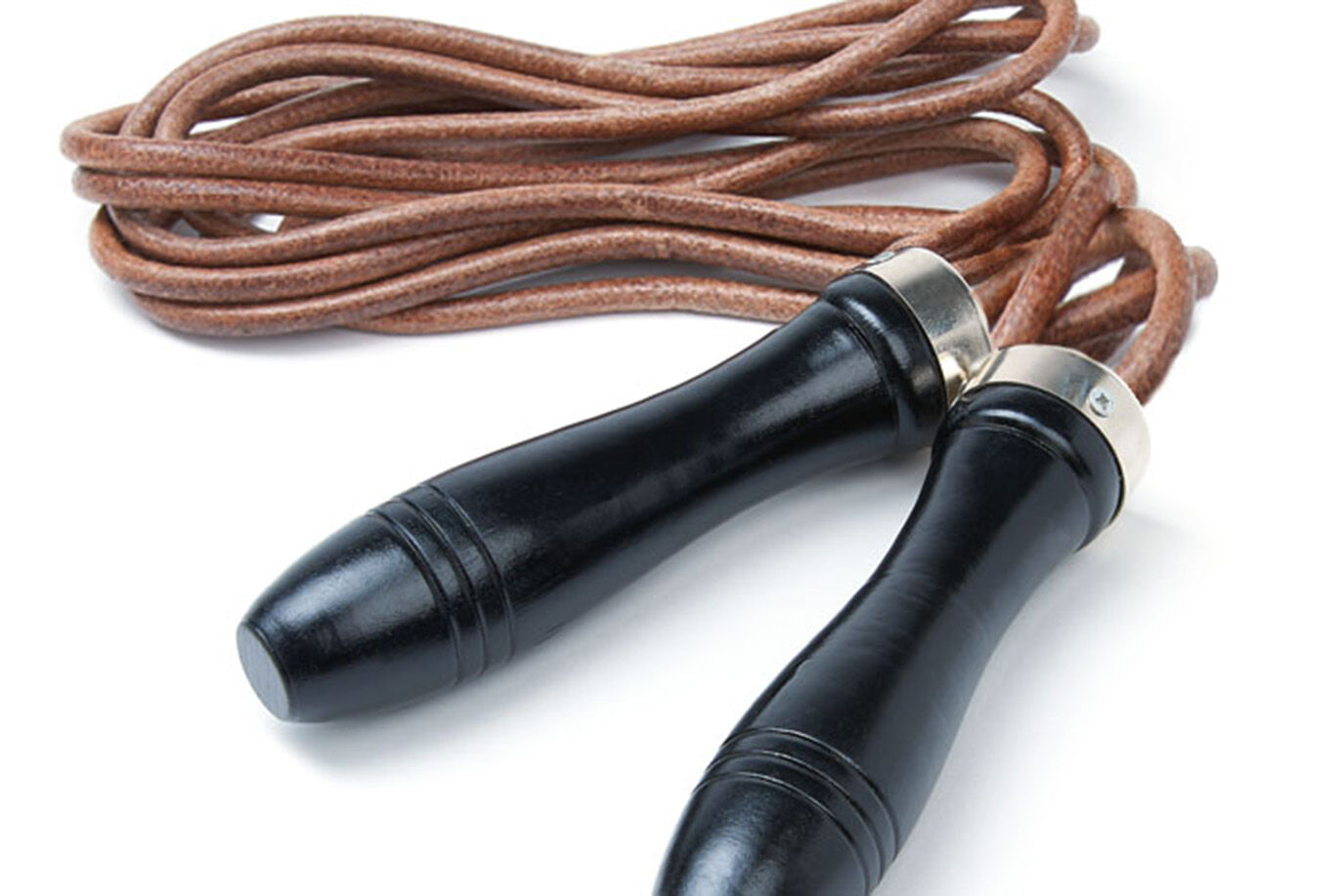Leather Skipping Rope   JTX Fitness