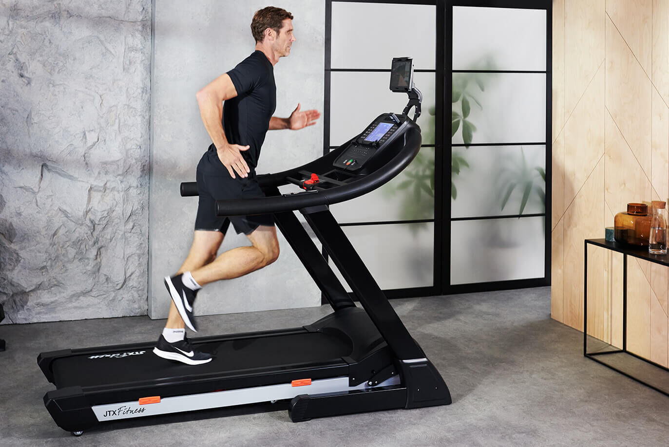 Pro Treadmill with robust CushionStep™ deck