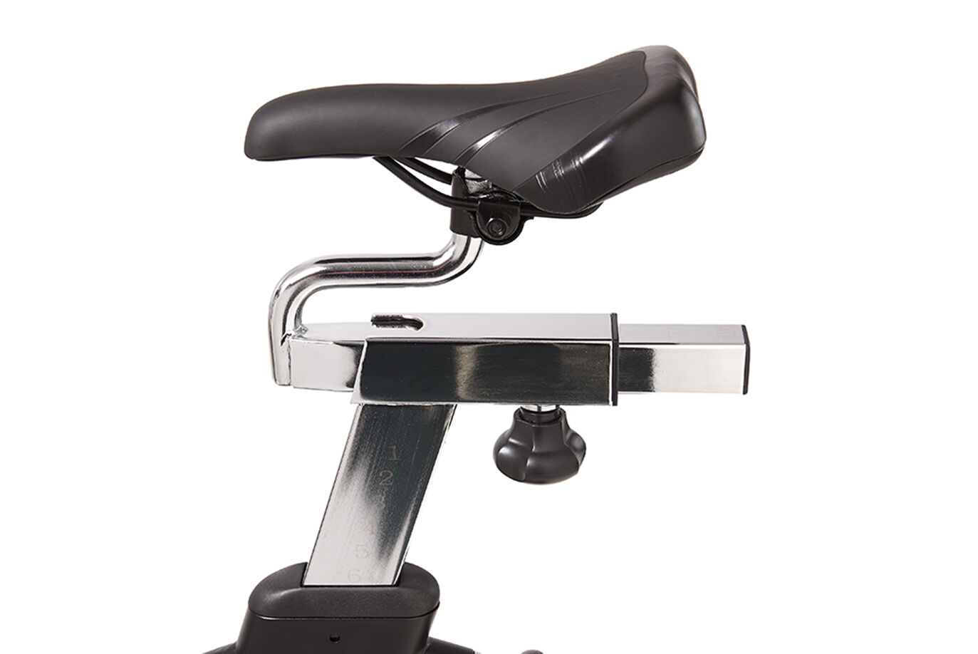 Adjustable Seat on the JTX Cyclo 6 Indoor Bike