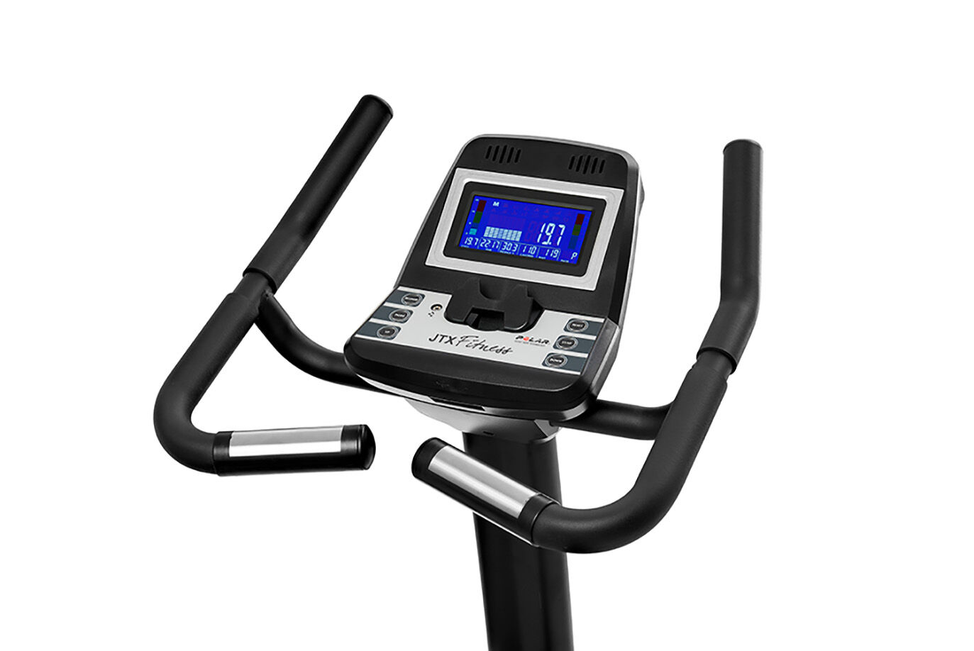 Feature-Rich Upright Exercise Bike Console