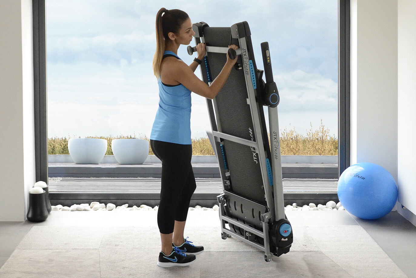 Foldable Treadmill from JTX Fitness