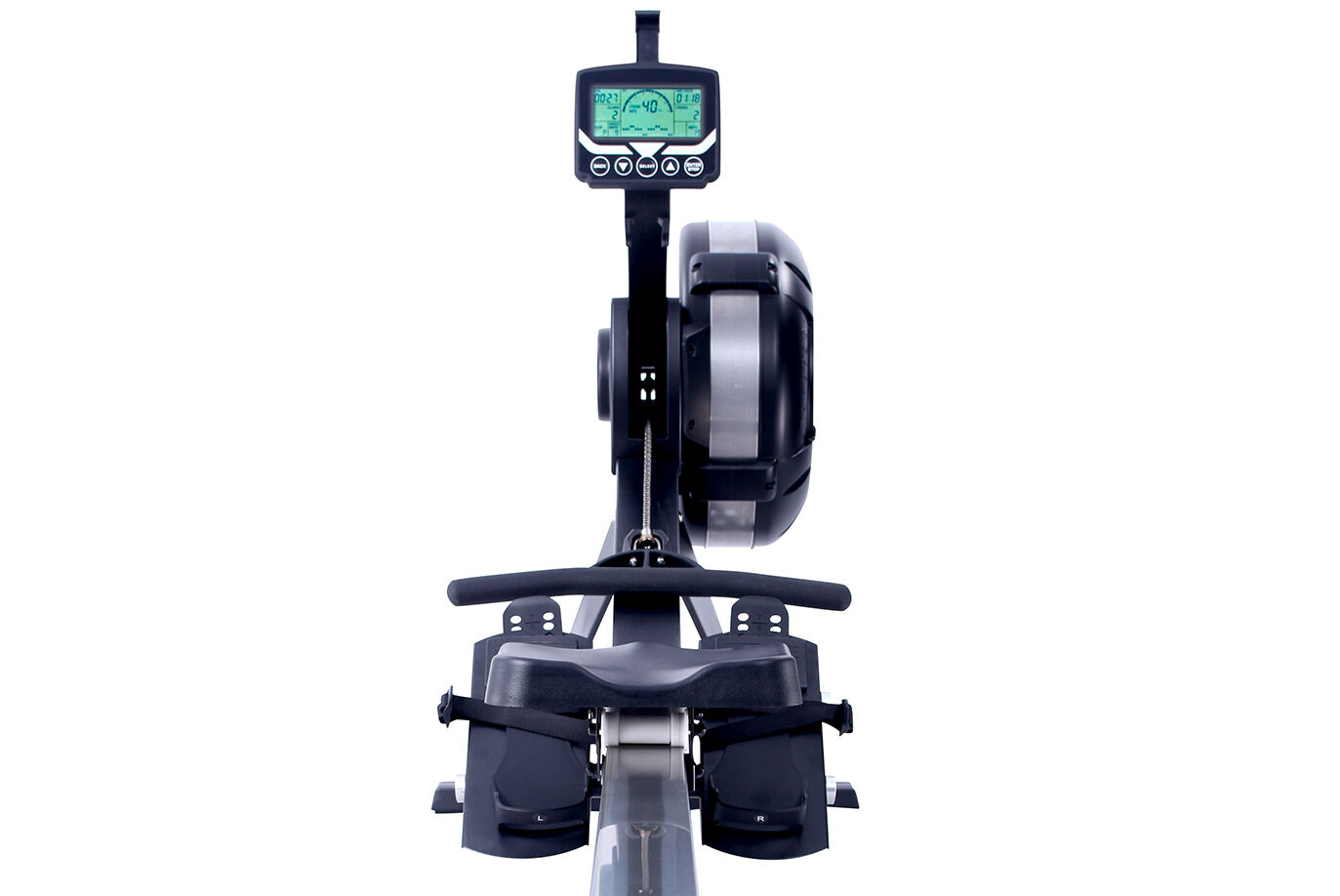 Front View Commercial Standard Indoor Rower