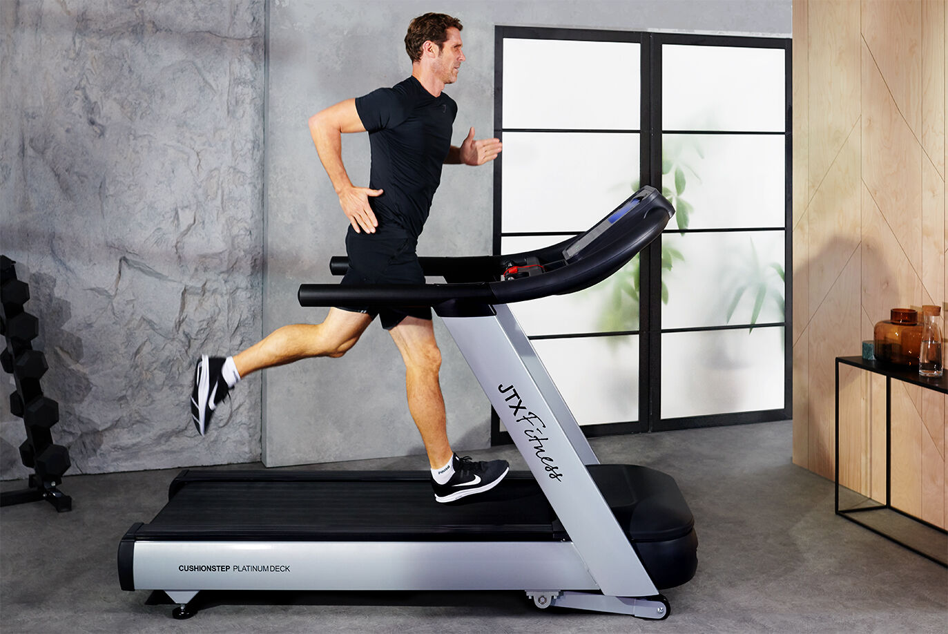 JTX Club-Max Commercial Non Folding Treadmill
