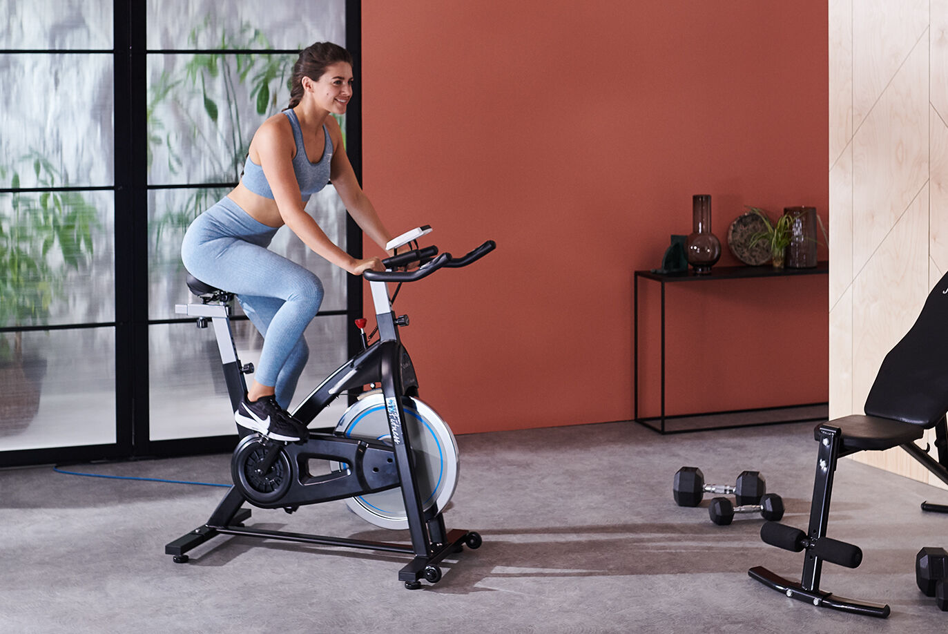JTX Cyclo 3 Compact Exercise Bike