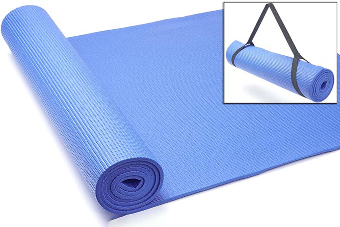 JTX Fitness Yoga Mat with Carry Strap