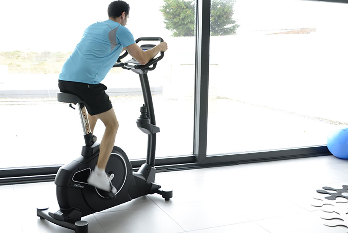 Upright Exercise Bike by JTX Fitness