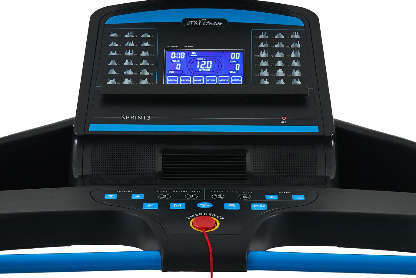 Small Electric Treadmill Console