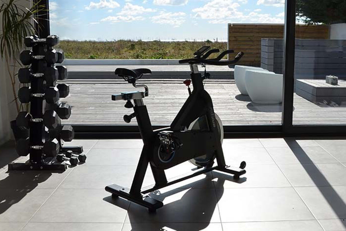 Stylish Dumbbell Rack For Your Home or Commercial Gym