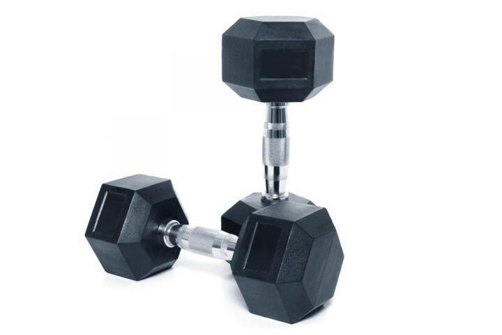 12kg Dumbbells from JTX Fitness