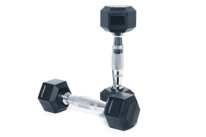 4kg Dumbbells from JTX Fitness