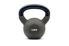 JTX 10kg Neoprene Covered Kettlebell