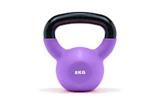 JTX 8kg Neoprene Covered Kettlebell