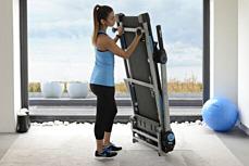 JTX Slim-Line: Fold Away Compact Treadmill