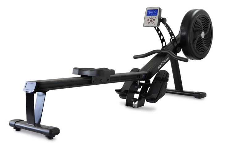 Used Rowing Machine >> Jtx Freedom Air Rowing Machine Silver