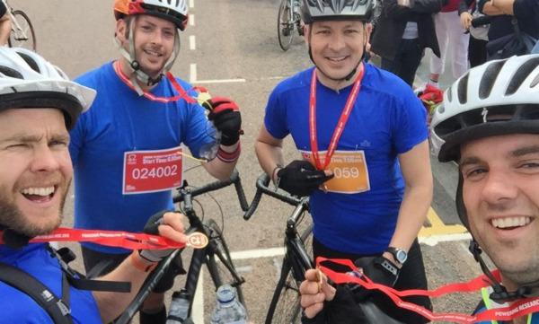 BHF London to Brighton Bike Ride
