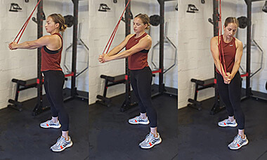 20-minute Full Body Resistance Band Workout