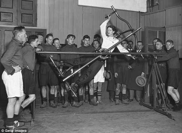 Vintage Exercise Machine