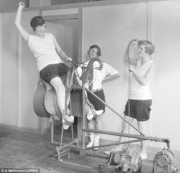 Vintage Riding Machine
