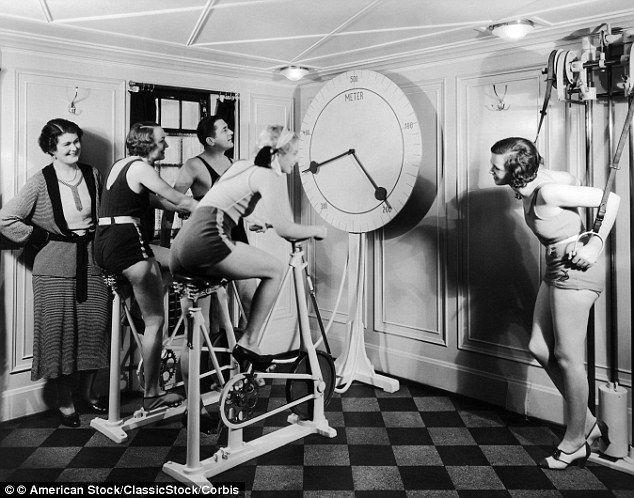 Vintage exercise bike challenge