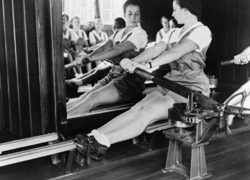 vintage rowing machines