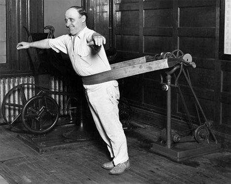 vintage vibrating belt exercise machine
