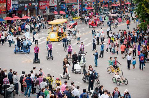 South Korea Reduce sedentary behaviour No Cars