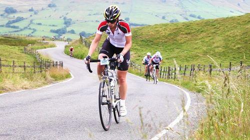 Cycling Hill Climb