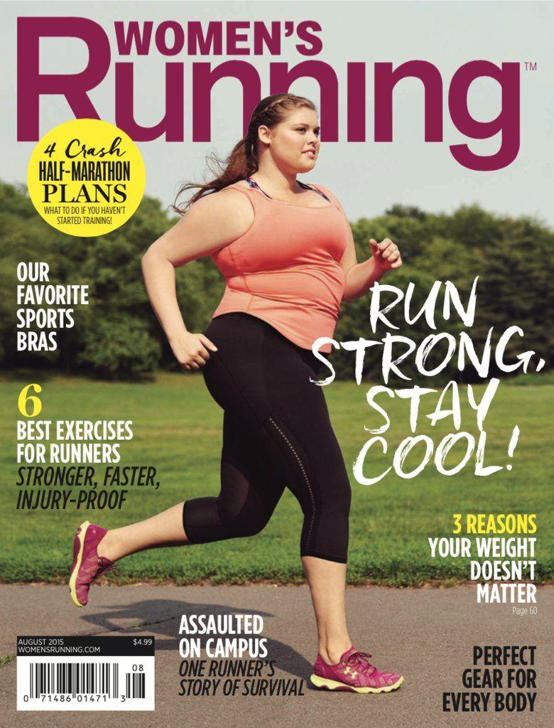 Women Running Plus Size