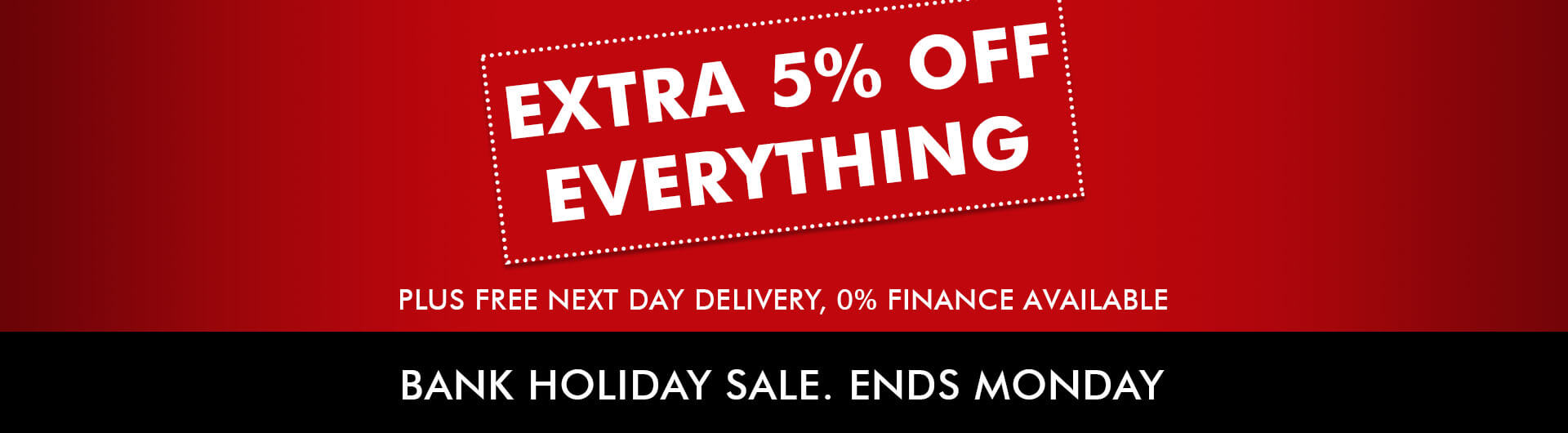 Extra 5% Off: Bank Holiday Fitness Sale