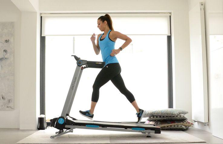 Running on a Treadmill at Home