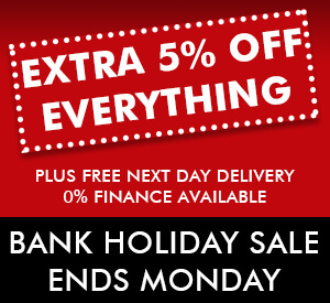 Extra 5% Off Everything This Weekend Only. Ends Monday