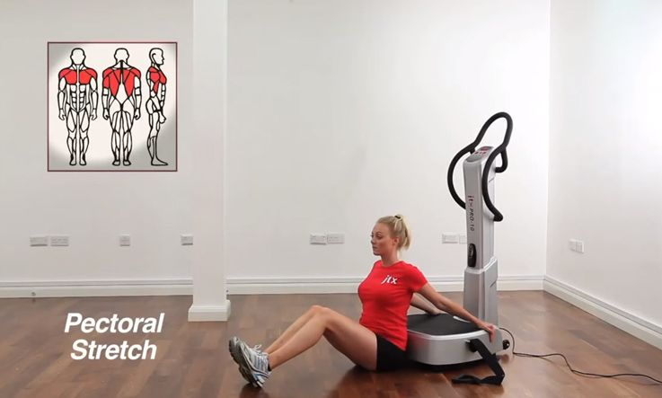 Vibration Plate Stretch | Pectoral Stretch |How To Guide