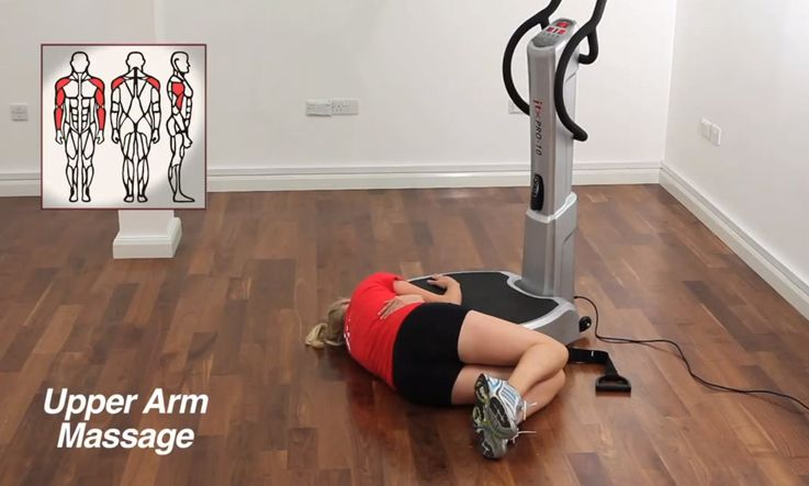 Arm Massage On A Vibration Plate Free Video Guide Jtx