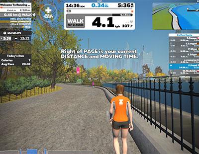 Top Treadmill Running App, Zwift