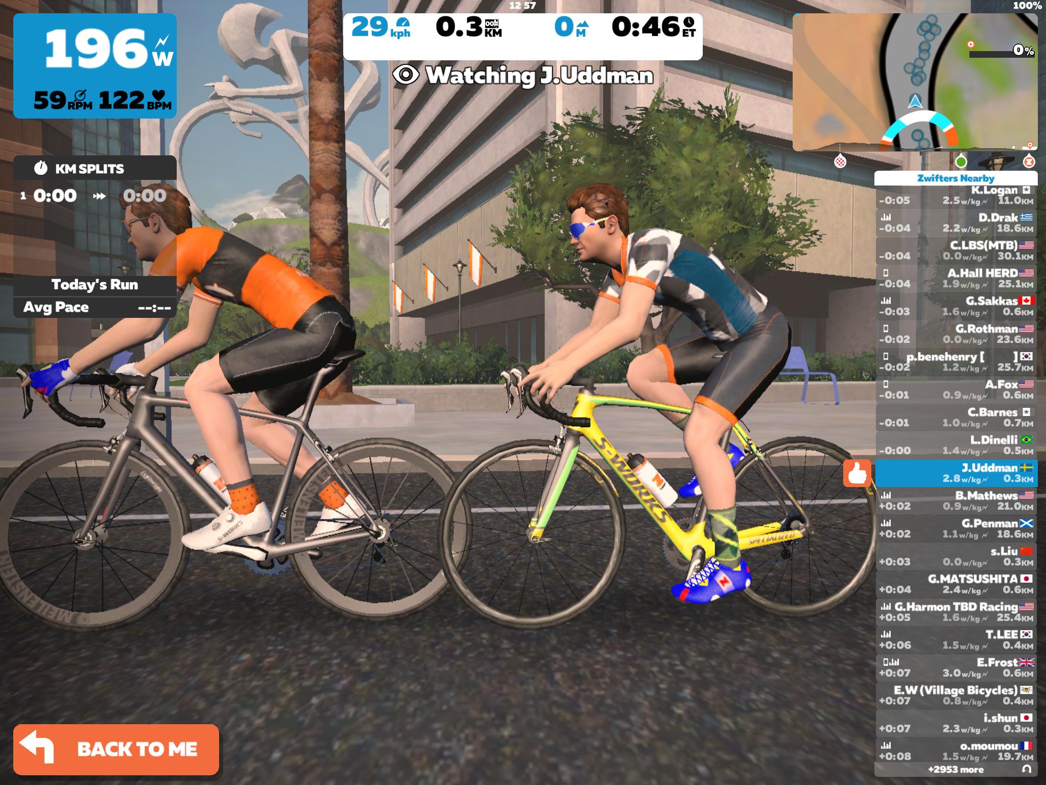 Zwift; Apps for Indoor Exercise Bike