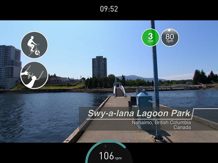 Exercise bike App, BitGym