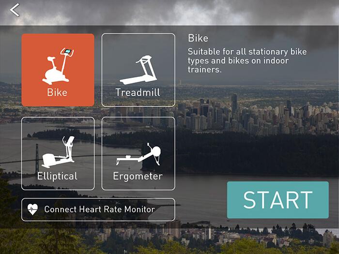 Best interactive bike apps, BitGym