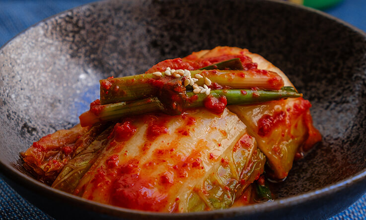 Healthy eating recipes - kimchi