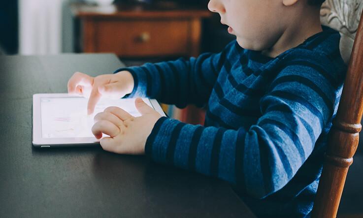 Indoor activities for kids - digital diary