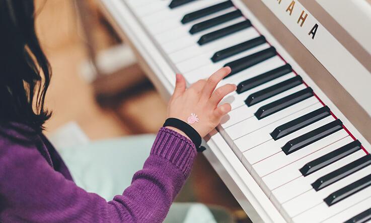 Indoor activities for kids - music