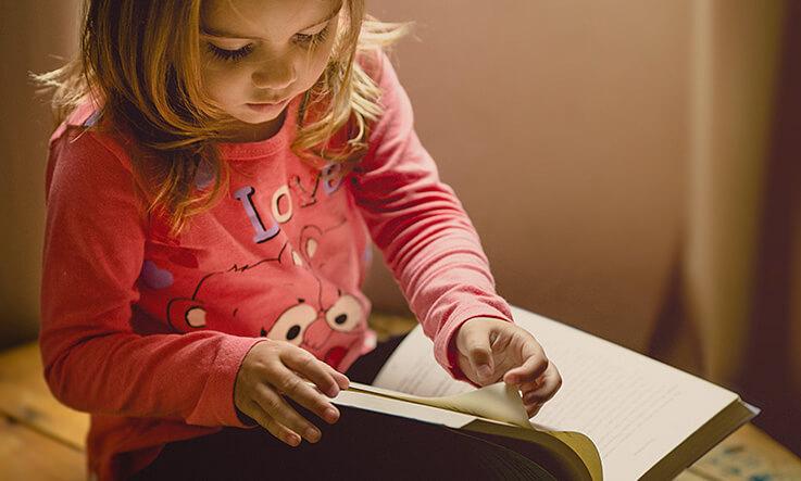 Indoor activities for kids - story time