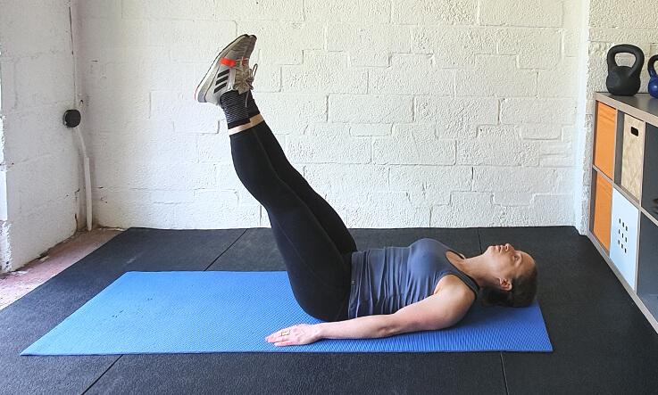 Workout schedule - Leg raises