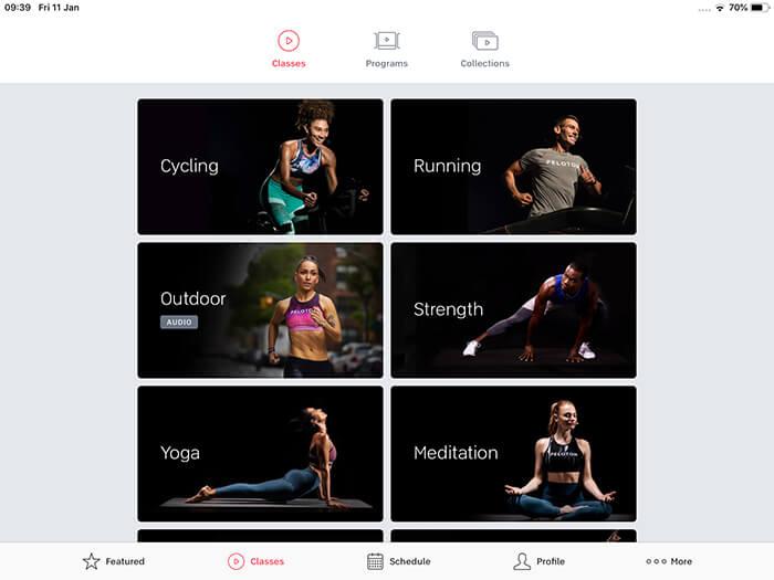 Best Indoor Cycling App, Peloton digital