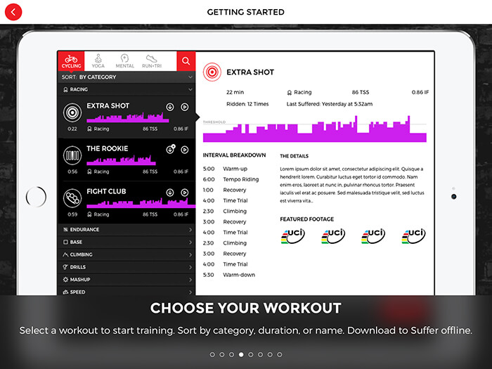 SufferFest, Best Exercise Bike App