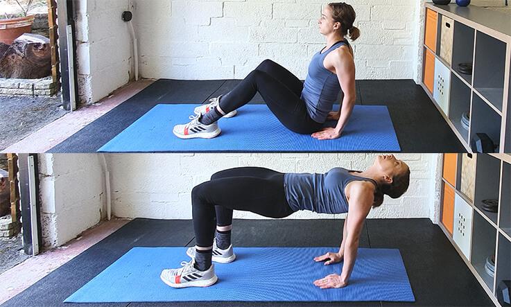 No Equipment Floor Exercises