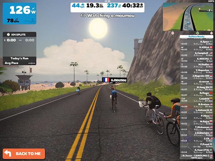 Zwift; Best Cycling apps