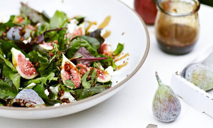 Meal Ideas - Anna Jones - Figs with Sticky Date Dressing